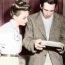 John Huston and Olivia de Havilland