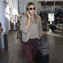 Maria Sharapova at LAX International Airport in LA - 454 x 681