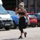 Danielle Armstrong – Leaving The Gym in Brentwood - 454 x 303