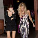 Ashley Tisdale:  Leaving The Bob's Big Boy Restaurant - 454 x 685