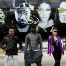 Black Eyed Peas Hold 'Mile High Club' In-Flight Karaoke