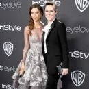 Angela Sarafyan and Evan Rachel Wood - Warner Bros. Pictures and InStyle Host 18th Annual Post-Golden Globes Party - Arrivals - 400 x 600