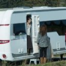 Emma Watson On The Set Of Colonia Dignidad In Luxembourg