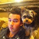 Kevin Jonas and his dog, Riley