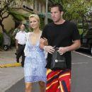 Paris Hilton & Doug Reinhardt Shopping At Tiffany In Hawaii, 2009-03-10