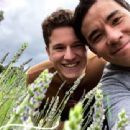 Conrad Ricamora and Joshua Cockream in France (June 13, 2018)