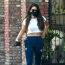 Olivia Munn – Looks sporty wearing Addidas while leaving a nail salon in Studio City - 454 x 673