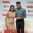 Georgina Rodriguez – Cristiano Ronaldo Receives the 2019 Marca Legend Award in Madrid
