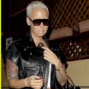 Amber Rose Attends Slash's Record Release Party at The Roxy theater in Los Angeles, California - September 25, 2014 - 454 x 679