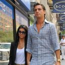 Kourtney Kardashian With Scott Disick Shopping In Midtown, NYC - July 29, 2010