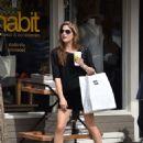 Selma Blair in Black Shorts – Shopping in Los Angeles - 454 x 584
