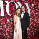 Melissa Benoist and Chris Wood: 2018 Tony Awards - Red Carpet