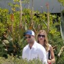 Rosie-Huntington-Whiteley and Jason Statham in France