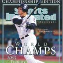Ivan Rodriguez - Sports Illustrated Magazine Cover [United States] (31 October 2003)
