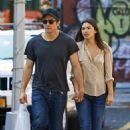 Jake Gyllenhaal and Alyssa Miller out and about in NYC (August 3)