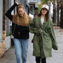 Lana Del Rey and a friend are spotted out shopping in Sherman Oaks, California on January 23, 2017 - 442 x 600