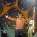 Rupert Grint had a little bit of fun with the audience at Ed Sheeran's concert on October 8 in Hatfield, Hertfordshire