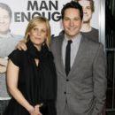 Julie Yaeger and Paul Rudd