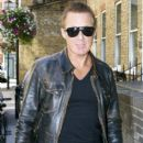 Martin Kemp Arrives at His London Hotel - 398 x 594