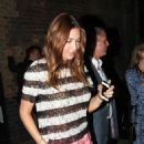 Lisa Snowdon At The Chiltern Firehouse In London