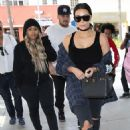 Blac Chyna, Rob Kardashian, and Kim Kardashian at Nate'n Al Delicatessen in Beverly Hills, California - April 26, 2016