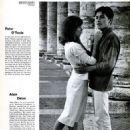 Barbara Lass, Alain Delon - 454 x 572