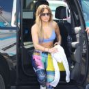Jennifer Lopez – Hits the gym in Miami