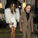 Elizabeth Hurley – Seen leaving the Evgeny Annual Vodka & Caviar Party in London - 454 x 683