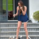 Charlotte Crosby – Spotted at her house in Sunderland - 454 x 588