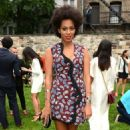 Solange Knowles: at Stella McCartney Spring 2013 Presentation in NYC