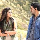 Abhishek Bachchan and Sonam Kapoor shooting for Players 2012 - 454 x 341