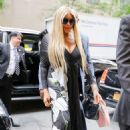 Wendy Williams – Arriving at Late Night with Seth Meyers in NYC - 454 x 681