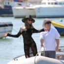 Abbey Clancy – Swimwear Photoshoot For 'Britain's Next Top Model' on Yacht in Cape Verde