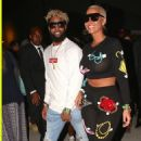 Amber Rose and Odell Beckham, Jr.at the Neon Carnival on April 15, 2017 in Indio, Calif