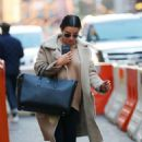 Lea Michele – Arrives in New York City