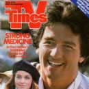 Patrick Duffy - TV Times Magazine Cover [United States] (16 August 1986)