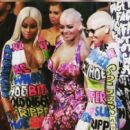 Blac Chyna and Amber Rose Attend the 2015 VMA Awards at the Microsoft Theater in Los Angeles, California - August 30, 2015 - 454 x 403