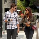 Kelly Brook And Danny Cipriani Grab Lunch At The Ivy Before Taking To The Shops Along Robertson Blvd, 27 May 2010