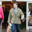 Olivier Martinez does some grocery shopping at Bristol Farms in Los Angeles, California on November 22, 2013