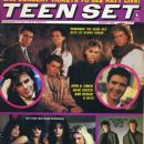 Simon Le Bon, Andy Taylor, John Taylor, Roger Taylor, Nick Rhodes, Vince Neil, Nikki Sixx, Mick Mars, Tommy Lee, Kirk Cameron, Michael J. Fox - Teen Set Magazine Cover [United States] (August 1986)
