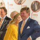 King Willem-Alexander and Queen Maxima of The Netherlands Visit New Zealand - 454 x 302