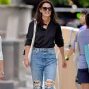 Katie Holmes – Heading to have lunch in New York City