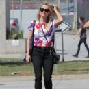 Reese Witherspoon is spotted leaving physical therapy in Santa Monica, California on October 08, 2015
