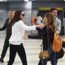 Emmy Rossum Arrives At Jfk Airport In Nyc