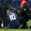 'If you play like that don't complain if you take some knocks': Neymar a huge doubt for Champions League clash with Manchester United as PSG confirm similar foot injury that nearly ruled him out of World Cup... but Strasbourg show no remorse - 454 x 325