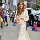 Sofia Vergara – Arrived at the 'The Late Show' in New York City