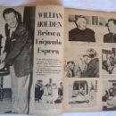 William Holden - Cine-Fan Magazine Pictorial [Brazil] (January 1957) - 454 x 340
