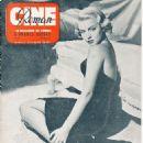 Lana Turner - Cine Roman Magazine Cover [Belgium] (25 June 1950)