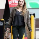 Elizabeth Olsen in Tights – Out in LA 1/15/ 2017