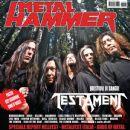 Chuck Billy (vocalist), Eric Peterson, Gene Hoglan, Alex Skolnick, Greg Christian - Metal&Hammer Magazine Cover [Italy] (August 2012)